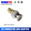 mini gold plated male sma to bnc coax adapter rf connector