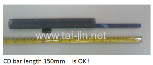 Dia 30mm tubular mesh anode used in concrete