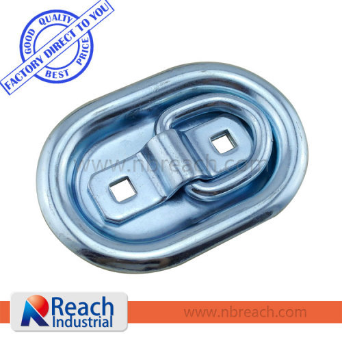 Truck and Trailer Recessed Rope Ring with Pan
