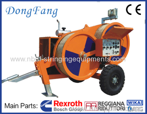 Single Conductor Stringing Equipment with 4 ton Tensioner