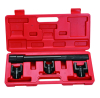 4pcs Inner Tie Rod Removal Installation Tool Set Mechanics Kit Dual Tie Rod Tools