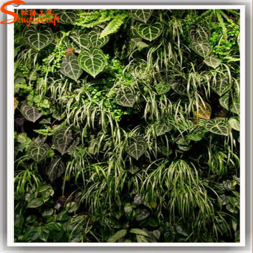 Indoor Plants Hanging Creative on wall Artificial Plants for hotel Decoration