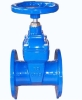 Soft seated DIN3352 Resilient gate valve with WRAS certificate
