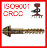 Tr Screw Spike Railway Fastener rail screw