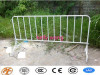 Haotian 2200mm galvanized wheeled crowd control barrier factory