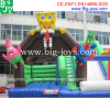 Giant spongebob inflatable bouncy castle playground