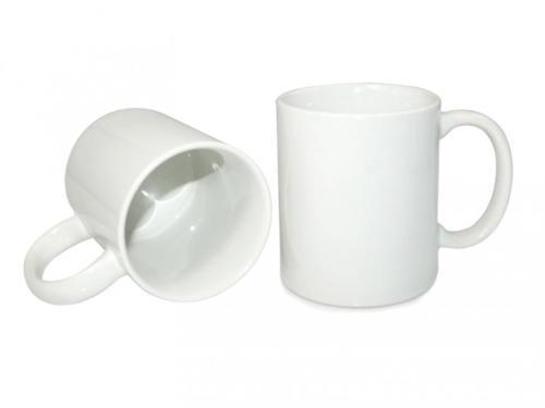 11oz white ceramic mug