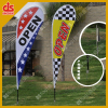 Advertising Beach flag custom feather flag