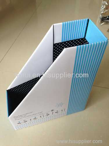 A4 file box Match The National Curriculum A4 filepaper magazine file holder