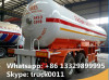 hot sale double BPW steel suspension 40500L lpg gas propane tank trailer