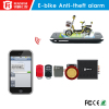 Smart vehicle gps tracker supports real-time tracking and auto anti-theft system for car/e-bike/motorcycle