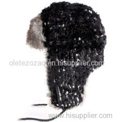 Thick Faux Fur Leifeng Hat With Earflap And Boutique Snow Hat