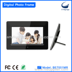 7 Inch Hd Lcd Digital Photo Frame with wifi function