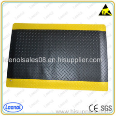 PVC Top Rubber Bottom ESD Non-slip Anti-Fatigue Mat