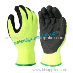 Warm work glove / industrial gloves