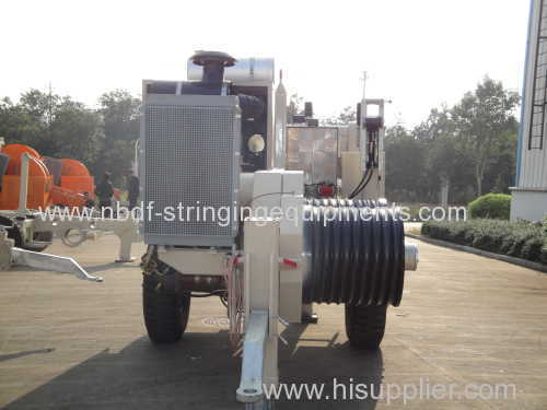 25 Ton Stringing Winch Puller for Overhead Conductors Pullling