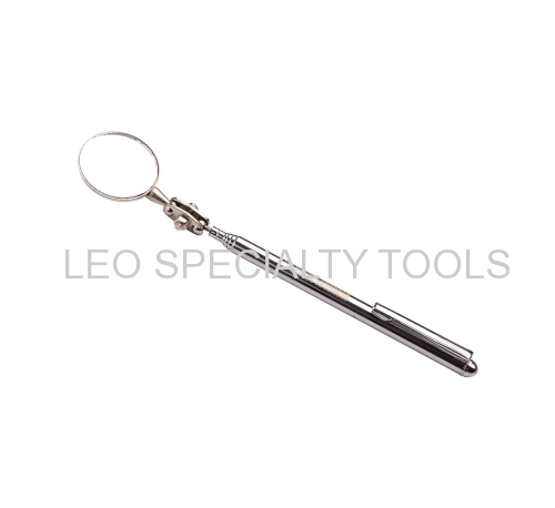 Retractable Inspection Mirror with Pen Clip