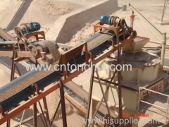 stone conveyor belt for crusher plant