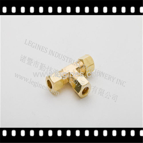 BRASS TEE:COMPRESS FITTINGS:BRASS FITTIGNS:COPPER FITTINGS:AIR BRAKE