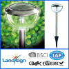 solar light Manufacture with ISO9001 and BSCI certified stainless steel soalr garden light