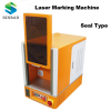 sealed laser marking machine for jewelry/ metal/ leather/ Plastic