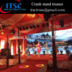 Heavy crank stand trusses system