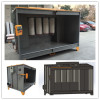Manual spraying powder coat booth