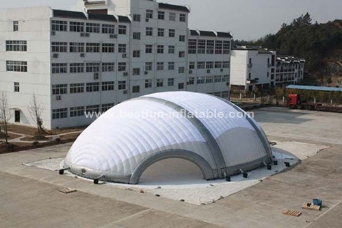 EN71 large trade show exhibition inflatable tent for advertising