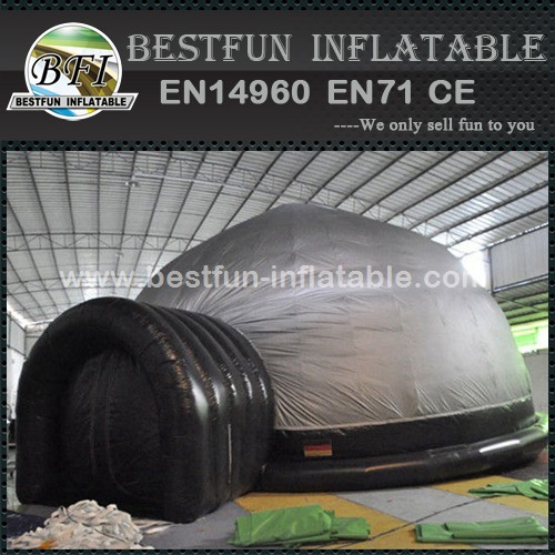 Inflatable cinema planetarium dome tent manufacturers and suppliers