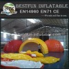 Water proof 6m diameter pvc tarpaulin air dome