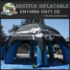 White print logo inflatable advertising spider tent