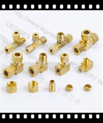 compression fitings brass fittings