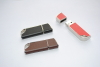 Leather USB Flash Drive 8GB Key Chain Flash Memory Drive Hot Selling Leather USB Flash Drive