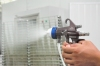 CNISOO Dual Nozzle/Two Component/Double Nozzle Spray Gun