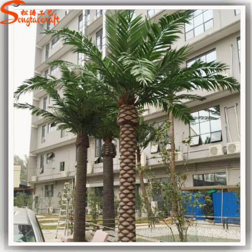6 Meter High Artificial Date Palm Tree Plastic Trees For Outdoor Decoration