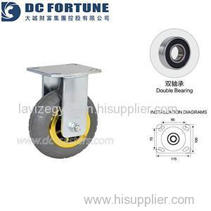 Trolley Rubber Wheels Product Product Product