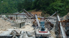 belt conveyor for stone transportation