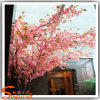 Latest artificial trees cherry blossoms wedding decoration at 6meter height