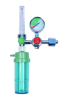medical oxygen regulator with cylinder