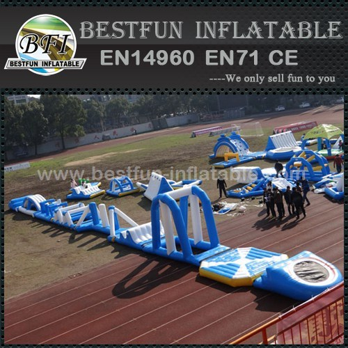 Factory Sales Inflatable Floating Water Park