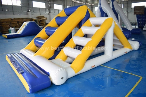 Inflatable water jungle slide game