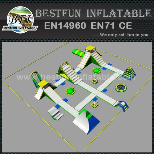 Inflatable water park equipment for sale