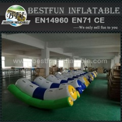 Single Tube Inflatable Water Totter Rocker