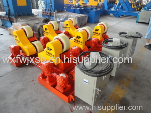 Self-alignment Welding Rotator for Pipe Seam Welding