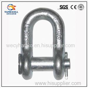 G215 Round Pin Chain Shackle