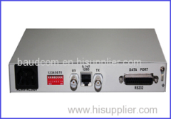Framed E1 G.704 to RS232 converter