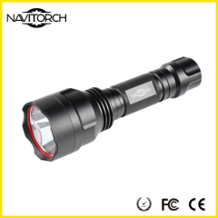 T6 LED High Light Black Water Resistant Impact Resistant LED Torch