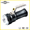 Silver Long Run Time Handheld Waterproof Portable Light
