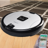 Wifi robot vacuum cleaner support built-in camera and take care of your pets and kids anywhere you are
