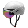 Time Trial Bicycle Helmet with Magnetic Goggle